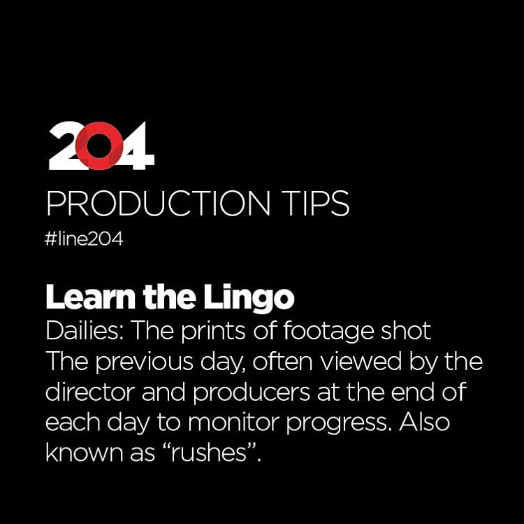Production Tips - Line 204